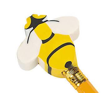 Bee  Erasers